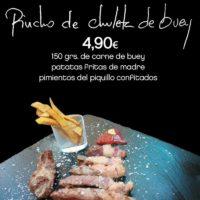 Pincho de Chuleta de Buey