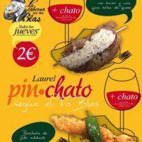 Jueves 10, Pinchato en la Laurel!