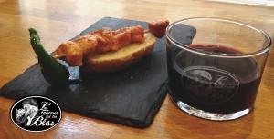 #Pinchato con Brochetita de Pollo Adobado