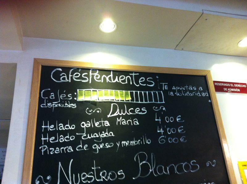 #cafespendientes
